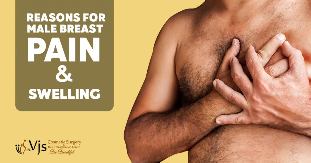 What are the reasons behind Male Breast Pain and Swelling? How to treat them?