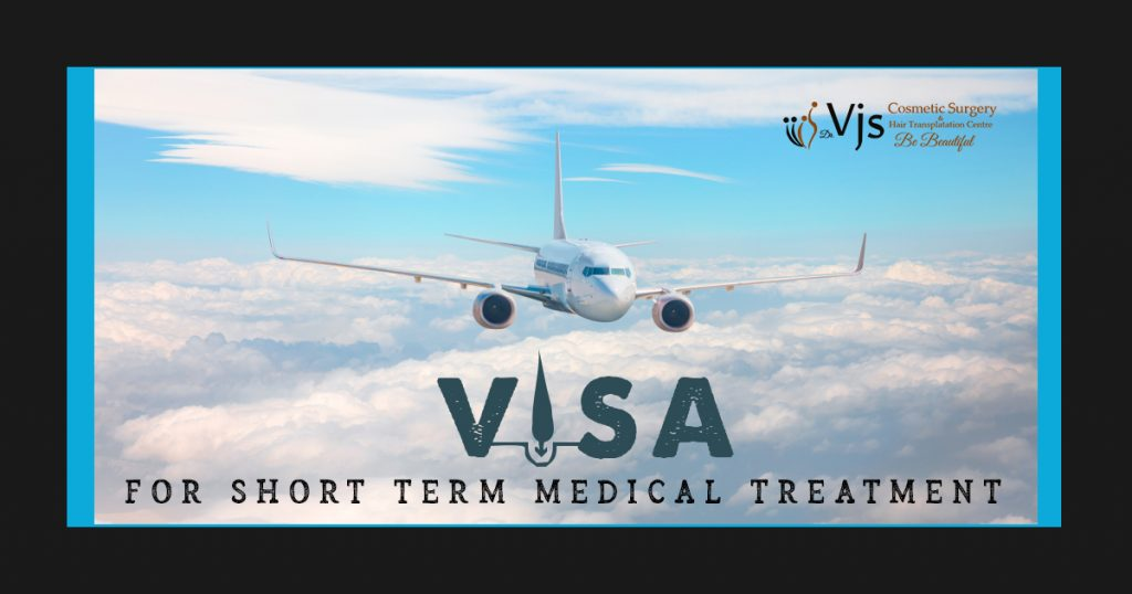 Requirements to get the Visa for short term medical treatment (Hair Transplant) in India?