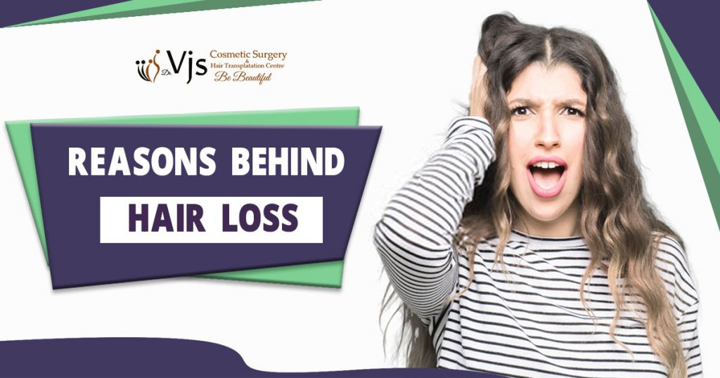 What are the topmost reasons which lead to the problem of hair loss?