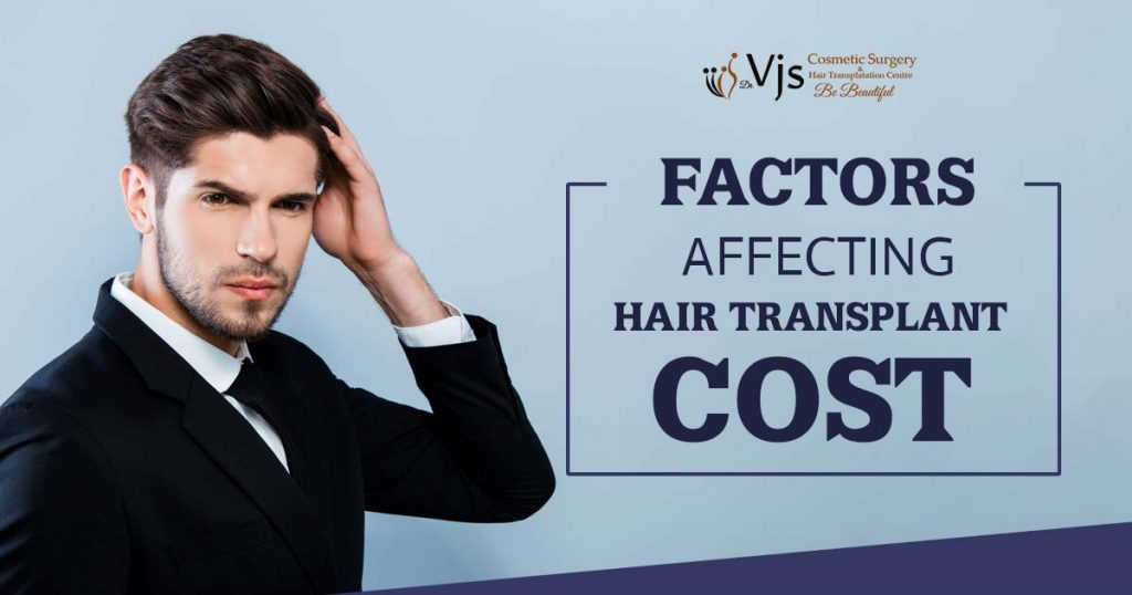 Different factors which affect the cost of hair transplant treatment