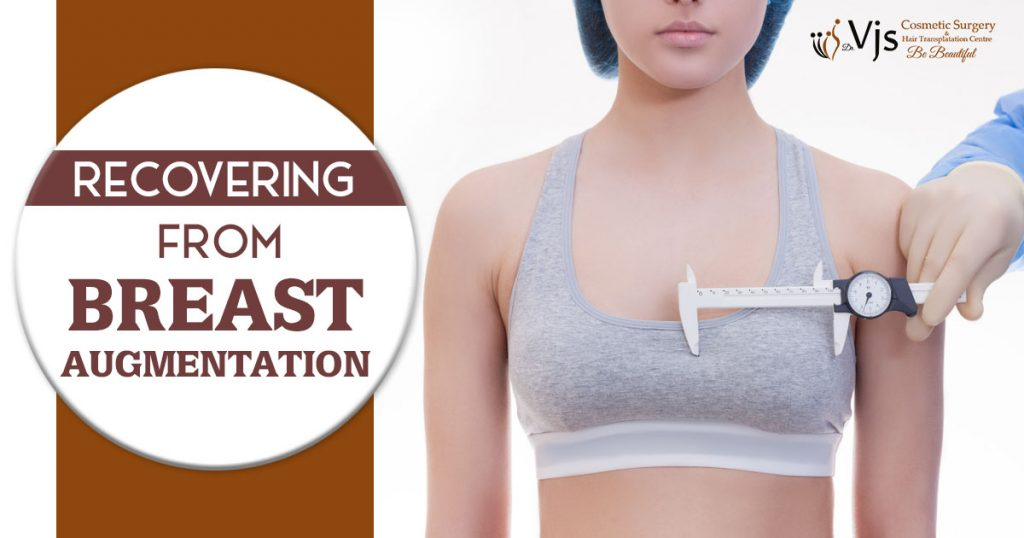 How does the recovery process feel like in breast augmentation surgery?