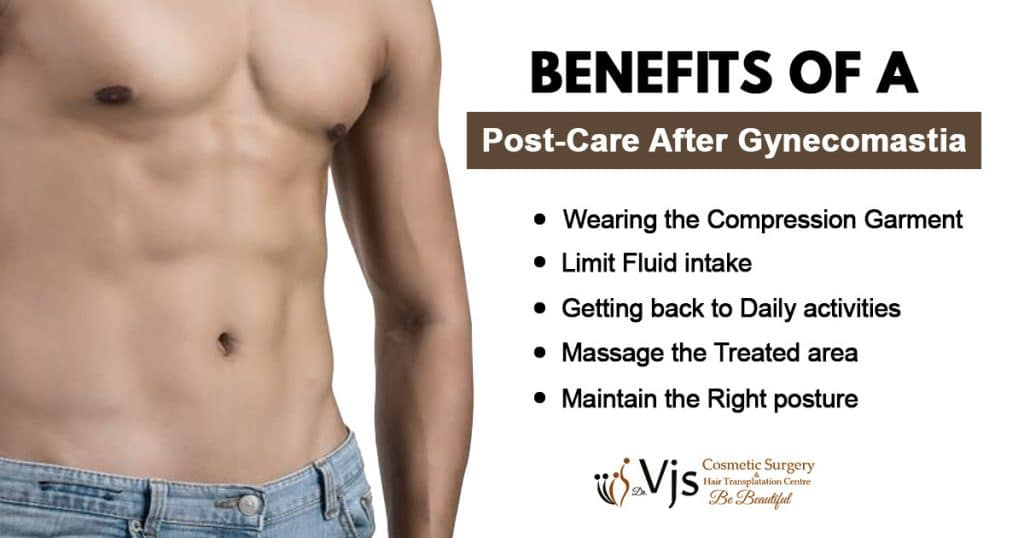 Topmost benefits of following a post-care routine after Gynecomastia surgery