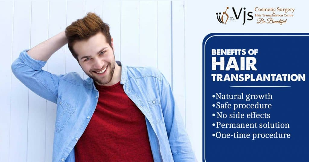 What are the different advantages of getting hair transplant surgery?