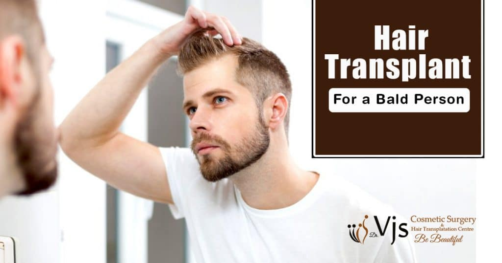 Is it possible for a full bald person to undergo hair transplant treatment?