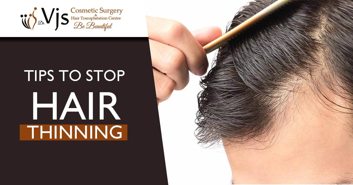 Tips to Stop Hair Thinning