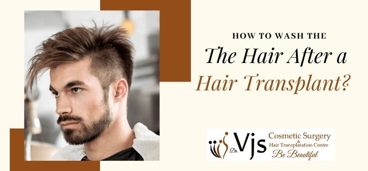 How should the individual take a head-bath after undergoing hair transplantation?